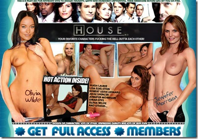 First House M.D. Porn Site on the net! Your favourite heroes in nude style: Hugh Laurie, Lisa Edelstein, Robert Sean Leonard, Jesse Spencer, Jennifer Morrison, Omar Epps, Olivia Wilde